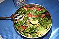 Big bowl o'salad 8-30-2008