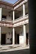 Inner courtyard 8-14-2008