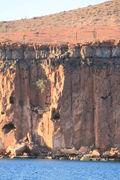 Ensenada de la Raza, Puerto Ballena cliff face 11-17