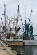 Shrimper Rusty II at Brunswick shrimp dock 7-16-2011