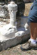 Hall of Kings - stucco remains 2
