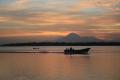 Estero sunrise w-pangas and Volcan San Cristobal  4-12-2014