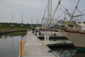 Marina Puerto Chiapas  view toward boat yard  4-23-2014