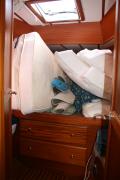 1 - V-berth crammed full