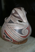 Repro Chihuahuan Middle Period zoomorphic polychrome