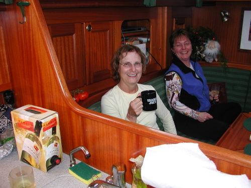 Vicki and Marianne
