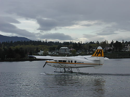 Can't move fast enough to avoid the float planes
