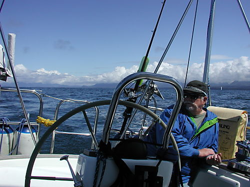 Leaving Nootka Sound