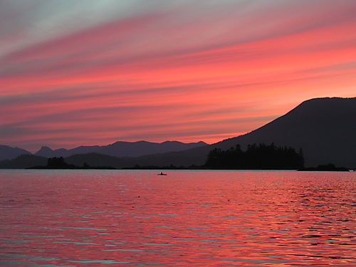 Tzartus Cove sunset