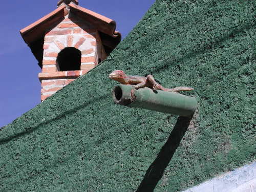 Another_Ajijic_downspout