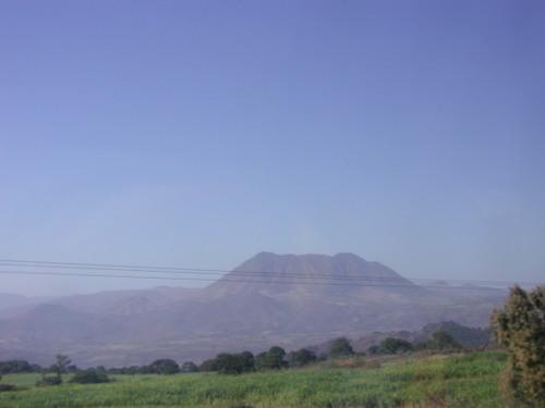 Jalisco volcano